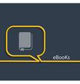 Ebook vector image vector image
