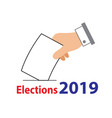 elections thailand 2019 - 03 vector image vector image