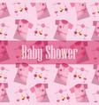 happy baby shower vector image vector image