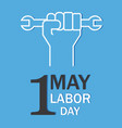 international labor day vector image vector image