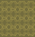 ornamental damask seamless pattern hand vector image