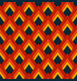 pattern seamless pattern with red rhombuses vector image vector image