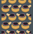 seamless pattern with epaulettes vector image