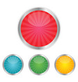 blank web glossy buttons vector image vector image