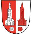 coat arms kerken in north rhine-westphalia vector image vector image