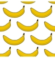colorful seamless pattern bananas vector image vector image