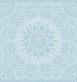 decorative mandala background design vector image vector image