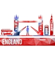 England travel background with place for text
