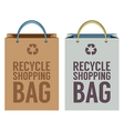 Recycle Paper Bag vector image vector image