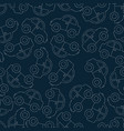 seamless pattern background with outline car toy vector image vector image