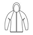 Sweatshirt icon outline style vector image vector image