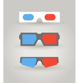3dglasses vector image vector image