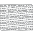 Abstract maze of high complexity