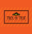 background halloween and pumpkin vector image vector image