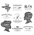 Barbershop signs vector image vector image