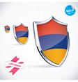 I Love Armenia Flag vector image vector image