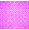 Pink abstract shining background vector image vector image