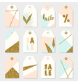 Summer Sale Tags Collection vector image vector image