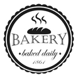 Vintage Retro Bakery Badges And Labels vector image