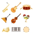 Set of music icons3 vector image