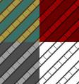 Film strip seamless background set vector image
