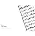 abstract black and white geometric stripe lines vector image