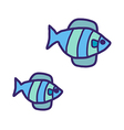 An aquarium fish vector image vector image