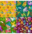 animals alphabet set for kids abc education vector image vector image