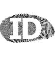ID vector image vector image