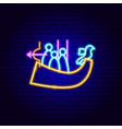 kyiv neon sign vector image