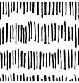 seamless trendy modern brush stokes pattern vector image vector image