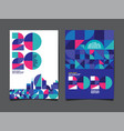 annual report 20202021 future business vector image vector image