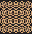 ethnic pattern geometric pattern vector image