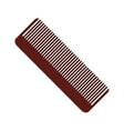 hair comb icon vector image vector image