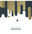 modern abstract background design concept vector image vector image