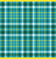 seamless plaid pattern vector image