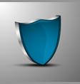 the 3d heraldic shields vector image