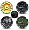 automotive speedometers vector image