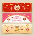 chinese new year banner background chinese vector image vector image