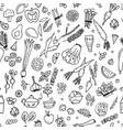 green vegetables detox seamless pattern design vector image vector image