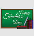 poster for happy teacher s day with nice and vector image