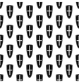 Shield pattern seamless vector image vector image
