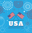 4th july united states independence day background vector image vector image