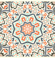 abstract geometric tiles bohemian vector image vector image