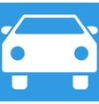 Car Flat Symbol vector image vector image