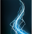 Electrical storm vector image