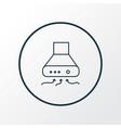 exhaust hood icon line symbol premium quality vector image vector image