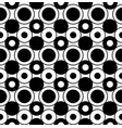geometric seamless pattern with circles vector image vector image
