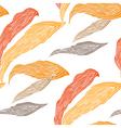 Petals wallpaper in autumn colors vector image vector image