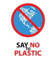 Say no to plastic poster design